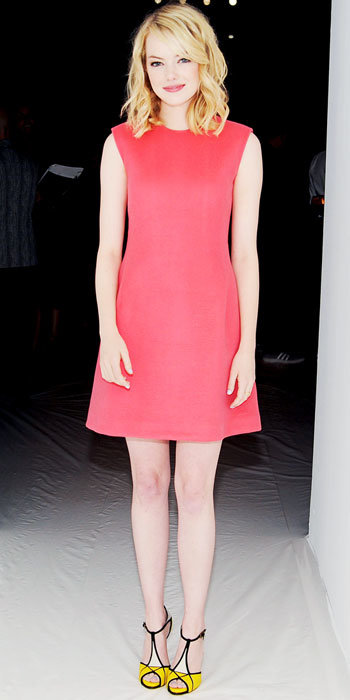 Emma Stone in Calvin Klein Collection