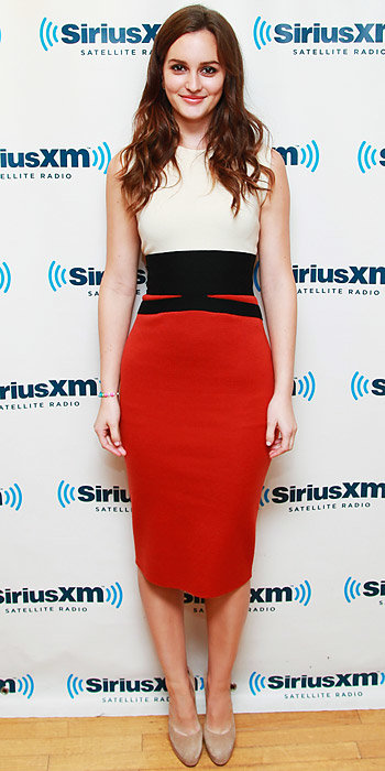 Leighton Meester in Giambattista Valli