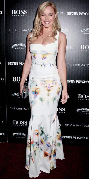 Abbie Cornish in Roland Mouret