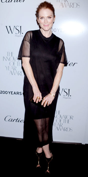 Julianne Moore in Christian Louboutin