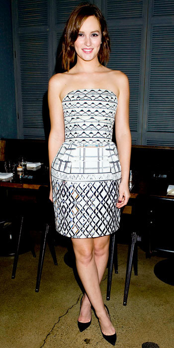 Leighton Meester Mary Katrantzou