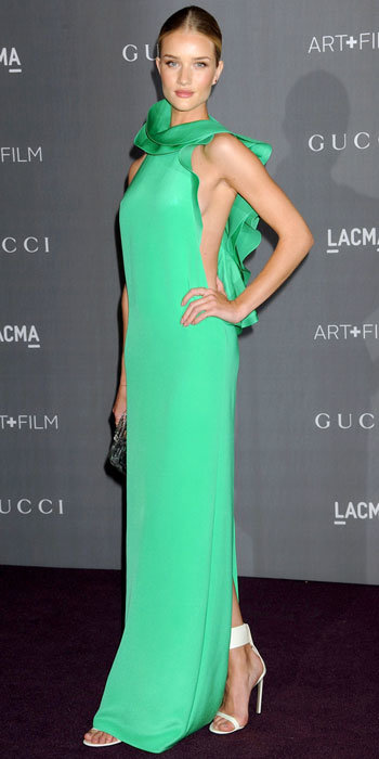 Rosie Huntington-Whiteley in Gucci