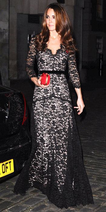 Catherine Middleton in Temperley