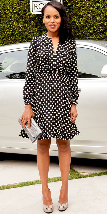Kerry Washington in Kate Spade New York