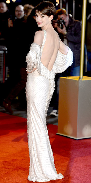 Anne Hathaway in Givenchy