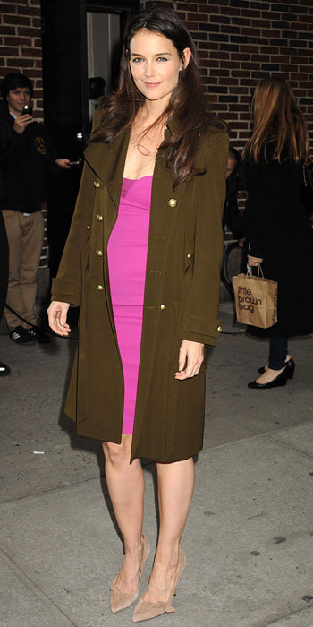 Katie Holmes in Narciso Rodriguez