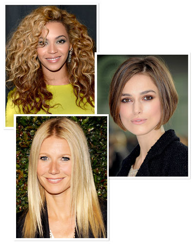Beyonce - Gwyneth Paltrow - Keira Knightly - Hairstyles That Never Go Out of Style