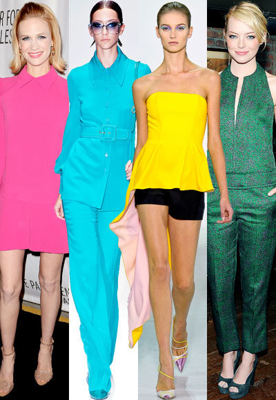Spring's Standout Hues