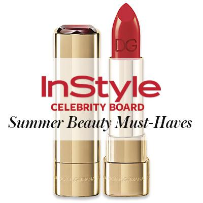 August Pinterest - Celebrity Pinterest Board: Summer Beauty Must-Haves