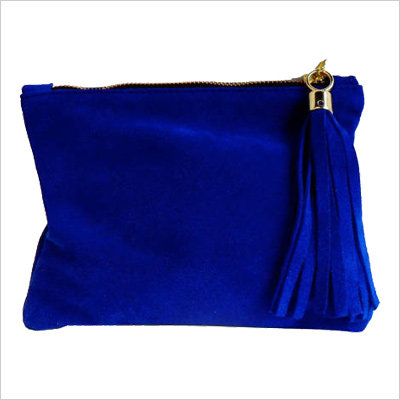 Miller and Jeeves Mini Suede Clutch