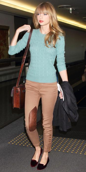 Taylor Swift Airport Style