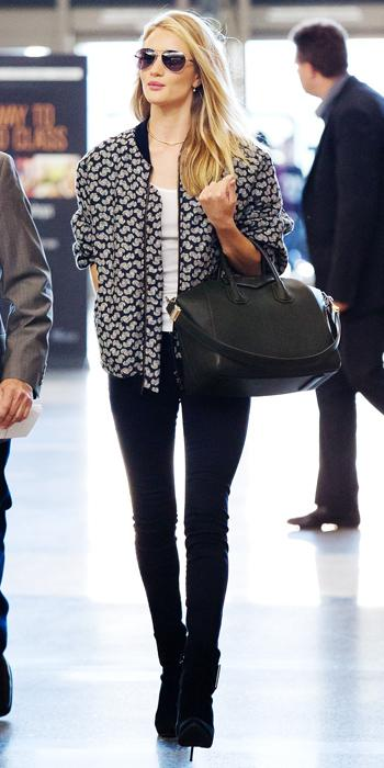 Rosie Huntington-Whiteley Airport Style