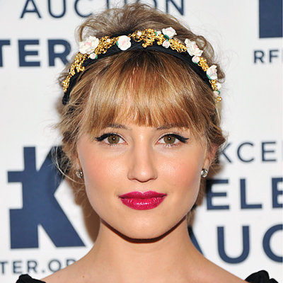 dianna agron hair hartruse - photo #33