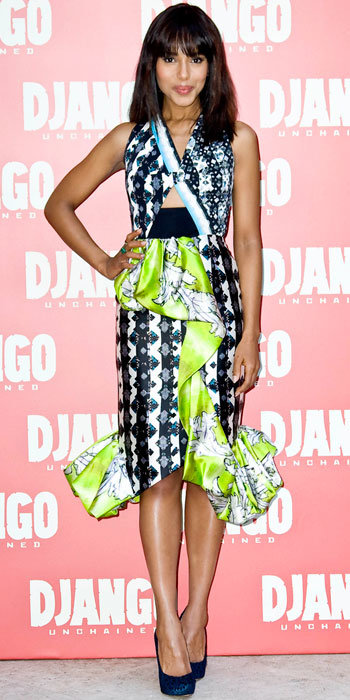Kerry Washington in Peter Pilotto
