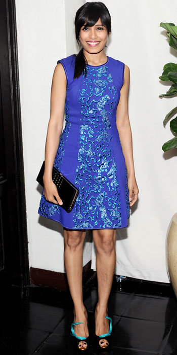 Freida Pinto in Missoni