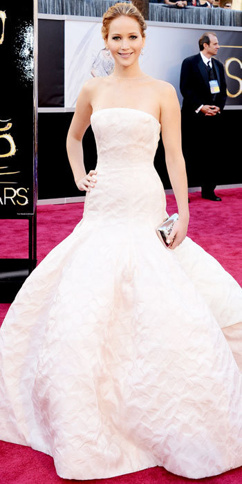 Jennifer Lawrence in Dior Haute Couture
