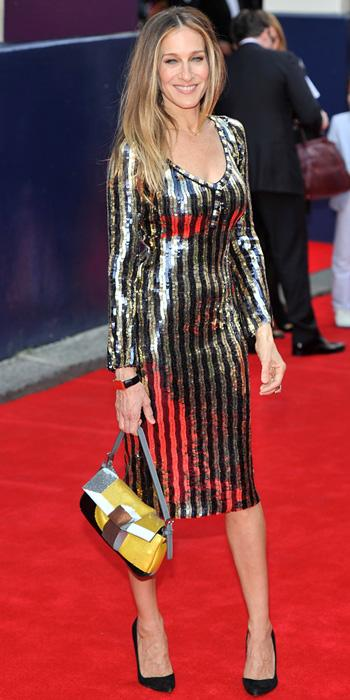Sarah Jessica Parker in Marc Jacobs