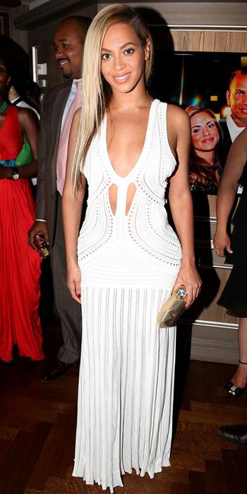 Beyonce Knowles in Roberto Cavalli