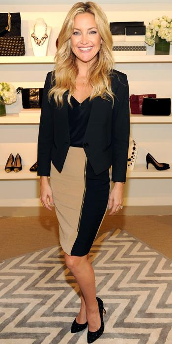 Kate Hudson in Ann Taylor