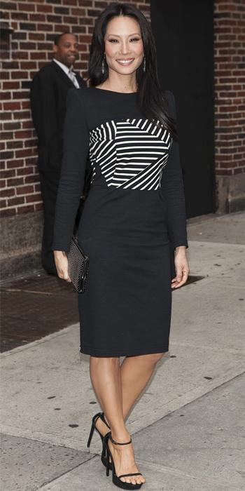 Lucy Liu in Band of Outsiders