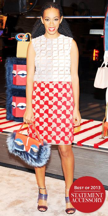 Solange Knowles in Fendi