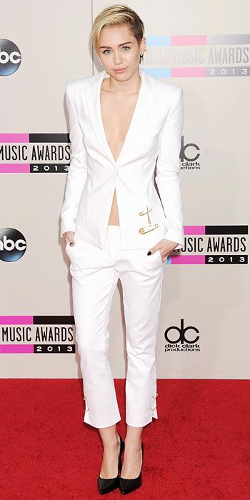Miley Cyrus in Versus Versace