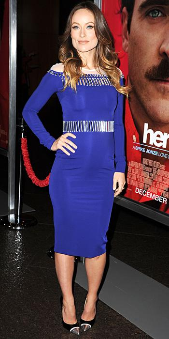 Olivia Wilde in David Koma