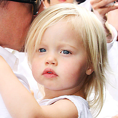 Shiloh Jolie-Pitt's Changing Looks | InStyle.com Brad Pitts Facebook