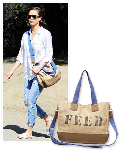 Go Green With Celebrity Inspired Eco Friendly Tote Bags