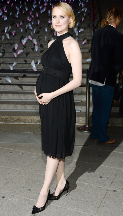 Evan Rachel Wood's Maternity Style