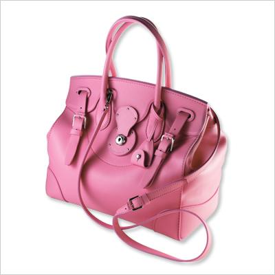 Ralph Lauren Pink Pony Soft Ricky Bag