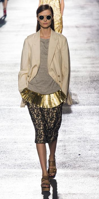 Dries Van Noten at Paris Fashion Week