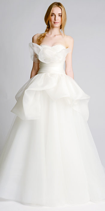 See marchesa s piece bridal collection for fall