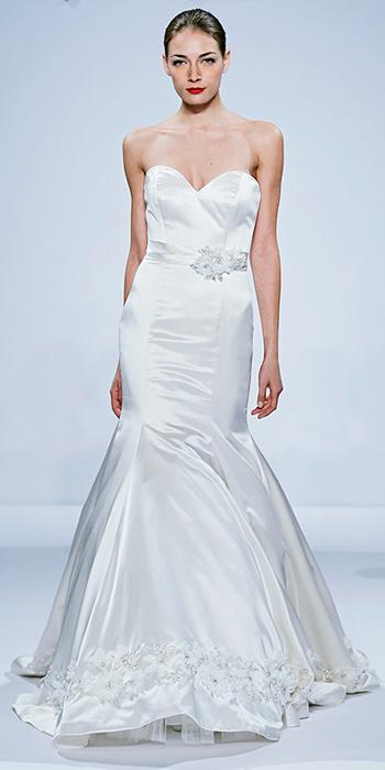 See the Dennis Basso for Kleinfeld Bridal Collection | InStyle.com