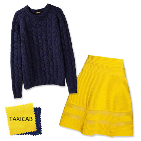 Midnight + Taxicab Yellow