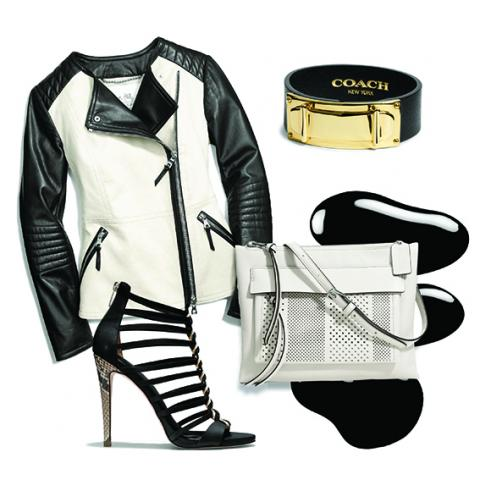 Coach Black and White Trend