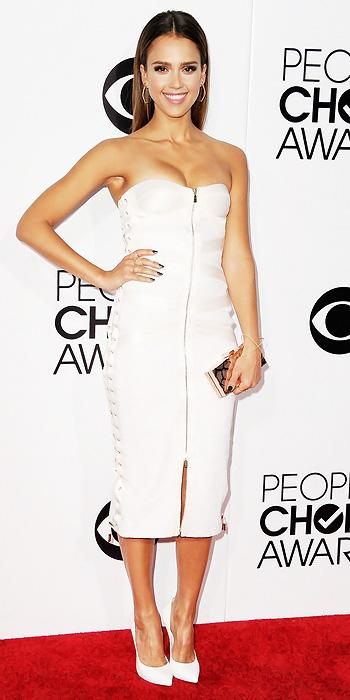 Jessica Alba in Jason Wu