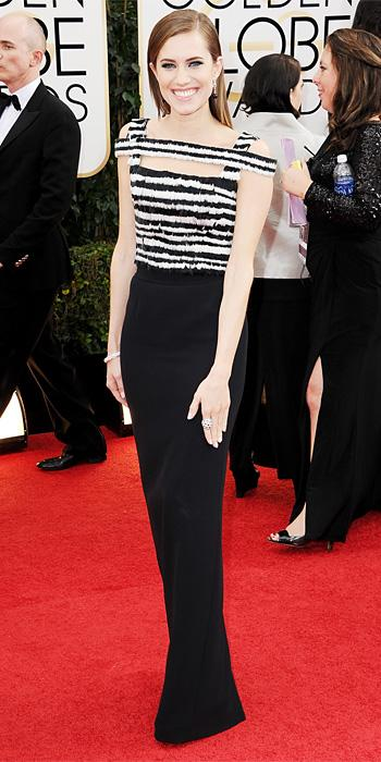 Golden Globes 2014: Allison Williams