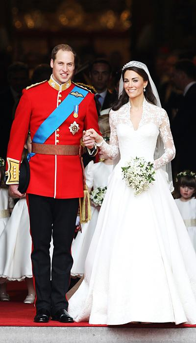 Celebrity Wedding Dresses - Kate Middleton