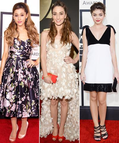 Grammys 2014 Fashion Trends: Shorter Hemlines