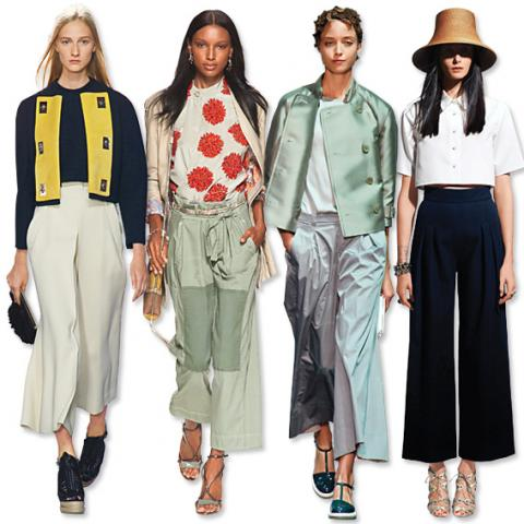 Clothes We Love: Wide Cropped Pants