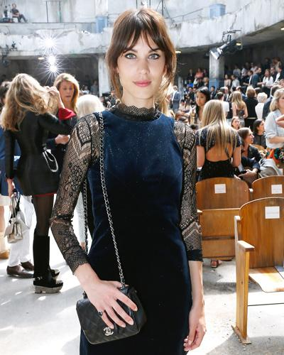 Fashion Week Fall 2014: Alexa Chung