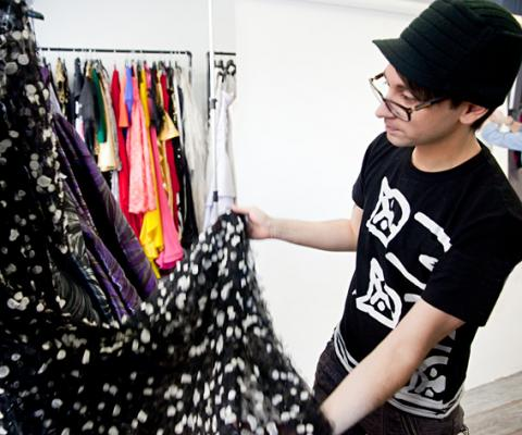 Christian Siriano Showroom Tour