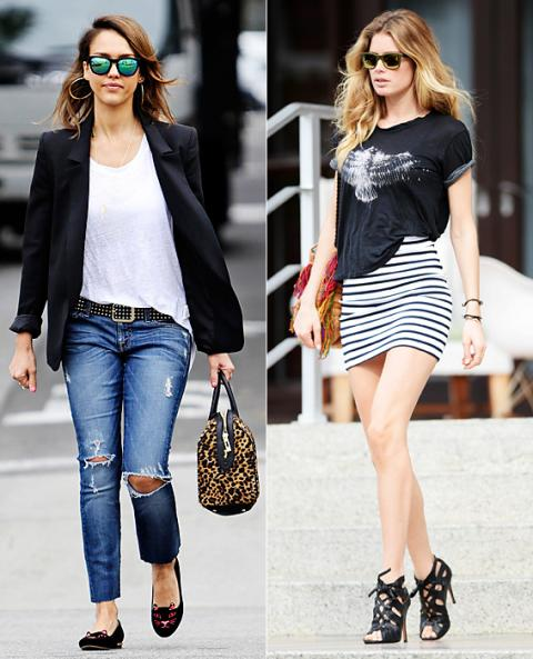 Spring Accessories-Celeb Inspired Trends: Mirrored sunglasses