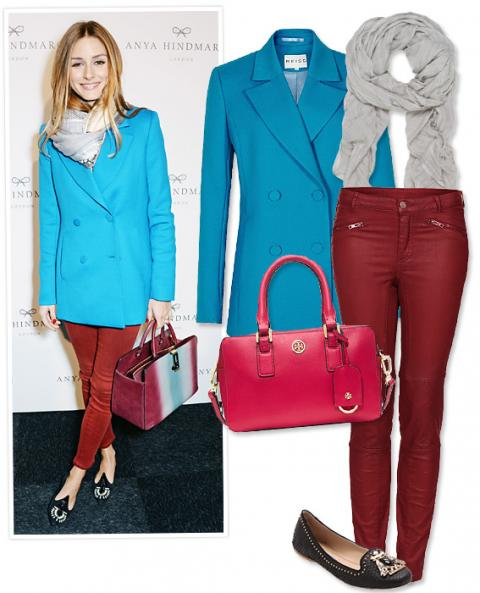 Outfit Making Bags: Olivia Palermo