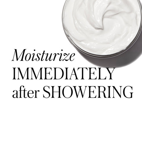 20 Timeless Skin-Care Tips - Moisturize Immediately After Showering