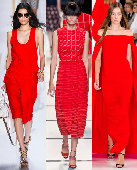 Red: DVF, Fendi, Ralph Lauren