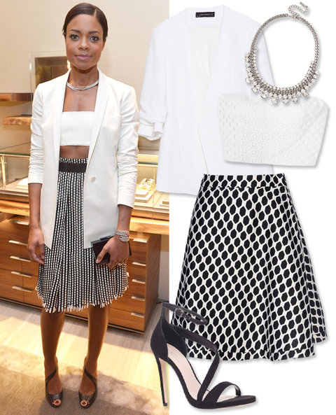 Crop Tops: Naomie Harris