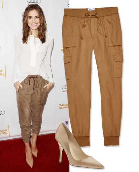 Shoe Pant Combos: Allison Williams