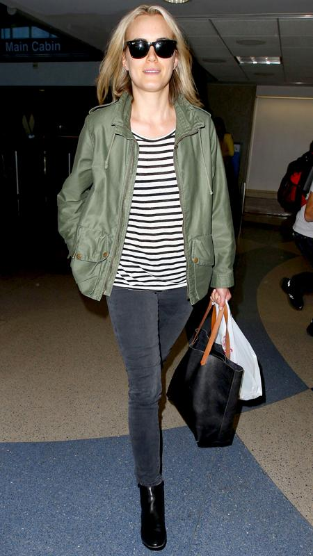 Star Airport Style: Taylor Schilling